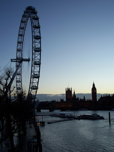 London Eye, Houses of Parliament
