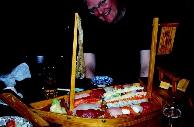 Boat of Sushi!
