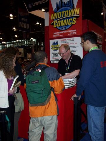 Midtown Comics Signing